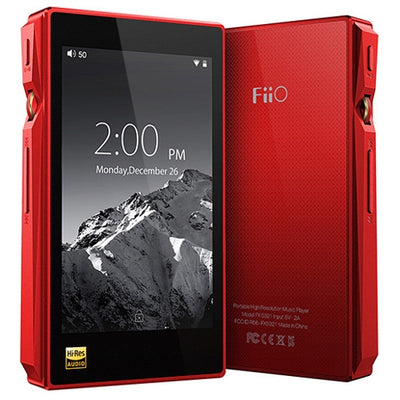 FiiO X5 3rd Gen Lossless Portable Digital Audio Player & DAC - Red - Refurbished