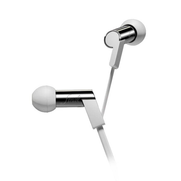 Final Heaven IV Stainless Steel In Ear Isolating Earphones - White Shaved Steel - Refurbished