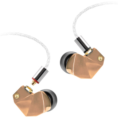 Final B1 Hybrid Dual Drivers IEM Earphones - Rose Gold