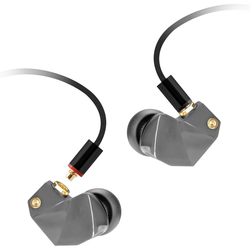 Final B2 Single Driver IEM Earphones - Gunmetal