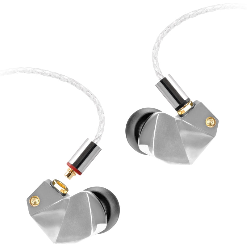Final B3 Dual Drivers IEM Earphones - Frost Silver