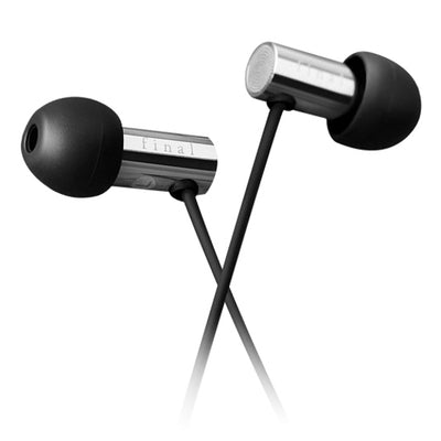 Final E3000C In Ear Isolating Earphones with Controls & Mic - Stainless Steel - Refurbished