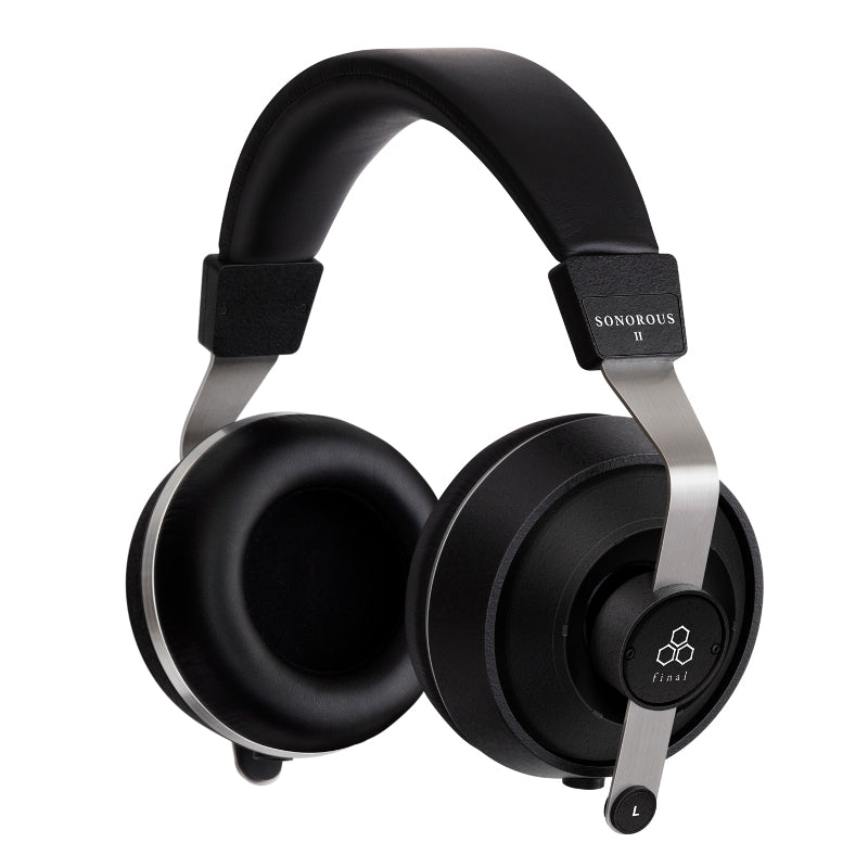 Final Sonorous II Closed Back Headphones with Replaceable Cable