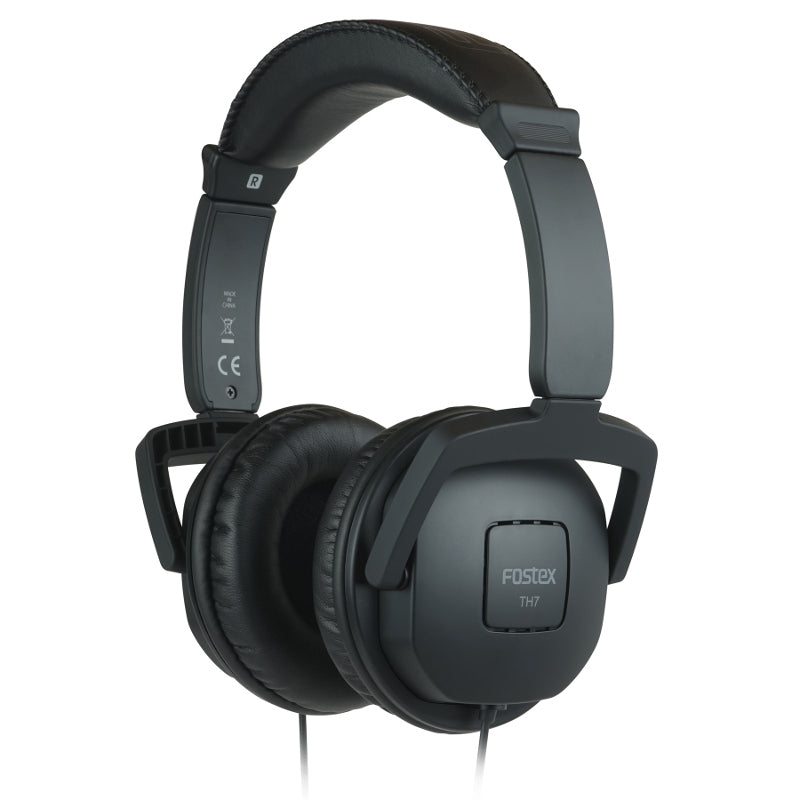 Fostex TH7BK Closed Back Headphones - Matte Black - Refurbished