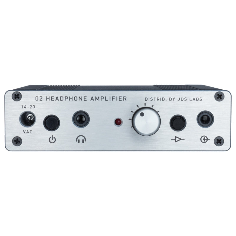 JDS Labs Objective2 Headphone Amplifier - Silver - Open Box