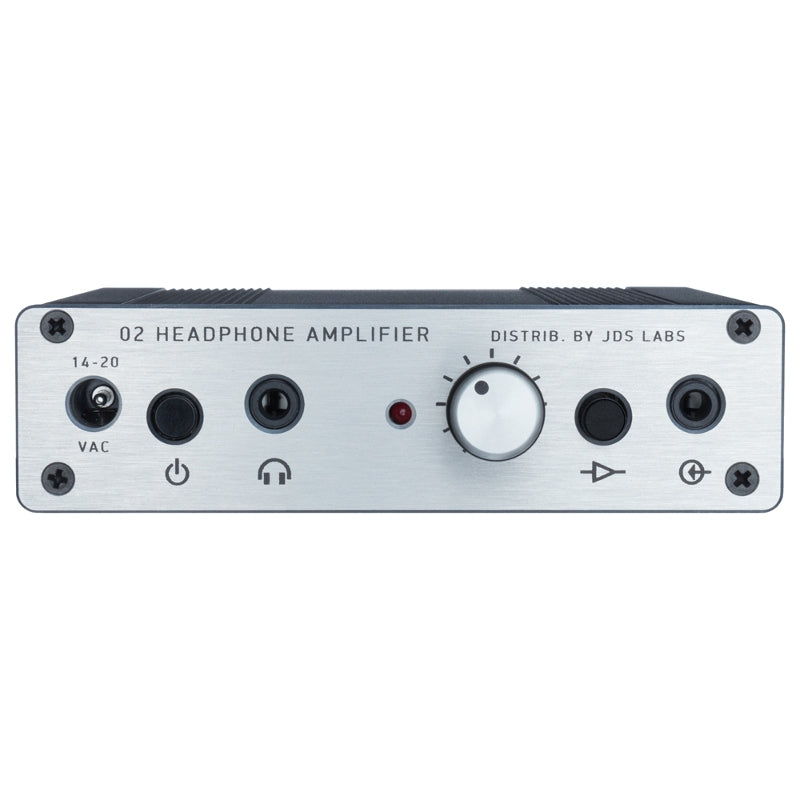 JDS Labs Objective2+ODAC RevB Headphone Amplifier & DAC - Silver - Refurbished