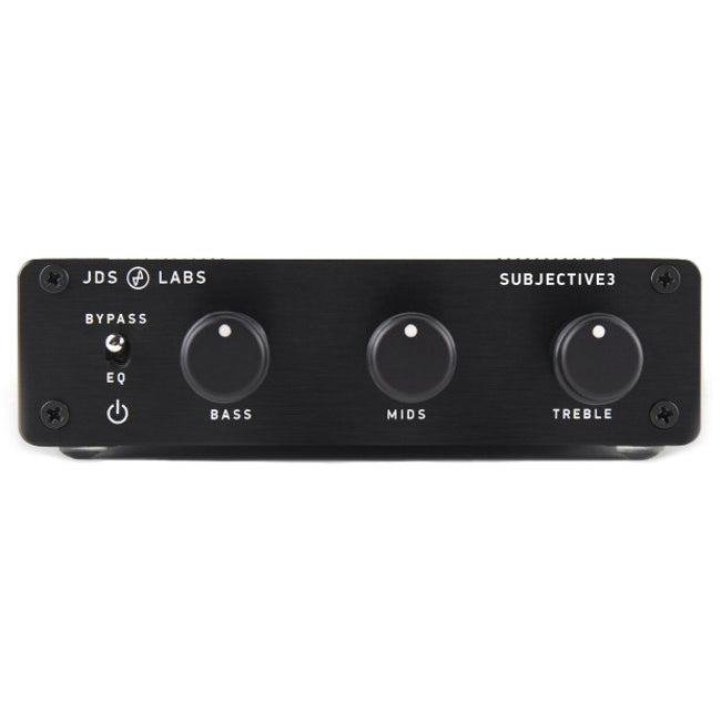 JDS Labs Subjective3 Equalizer - Black - Open Box