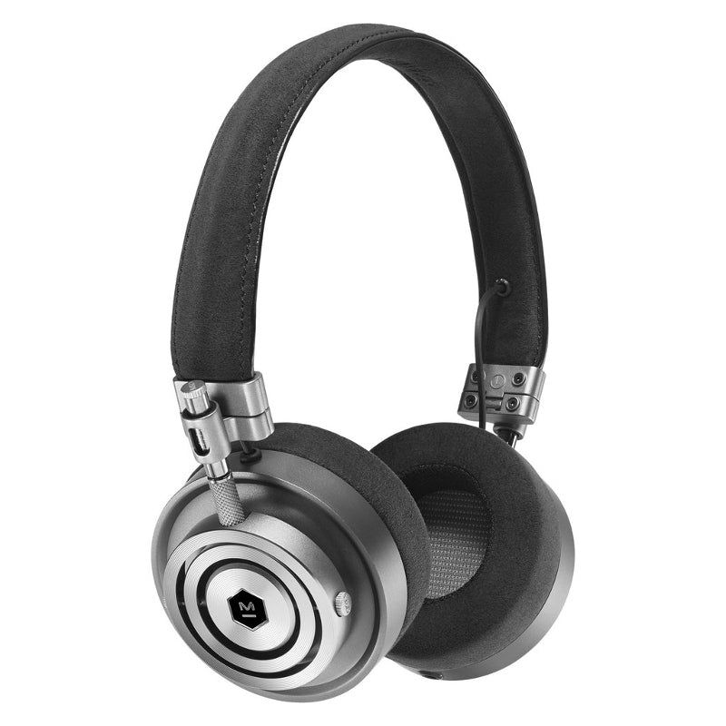 Master & Dynamic MH30 Closed Back Headphones with Apple Controls & Mic – Gunmetal-Alcantara - Refurbished