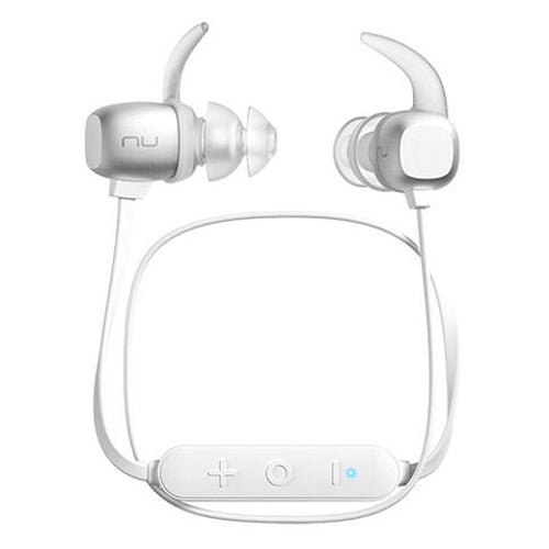 Optoma NuForce BE Sport4 Wireless In Ear Isolating Earphones with Controls & Mic - Silver