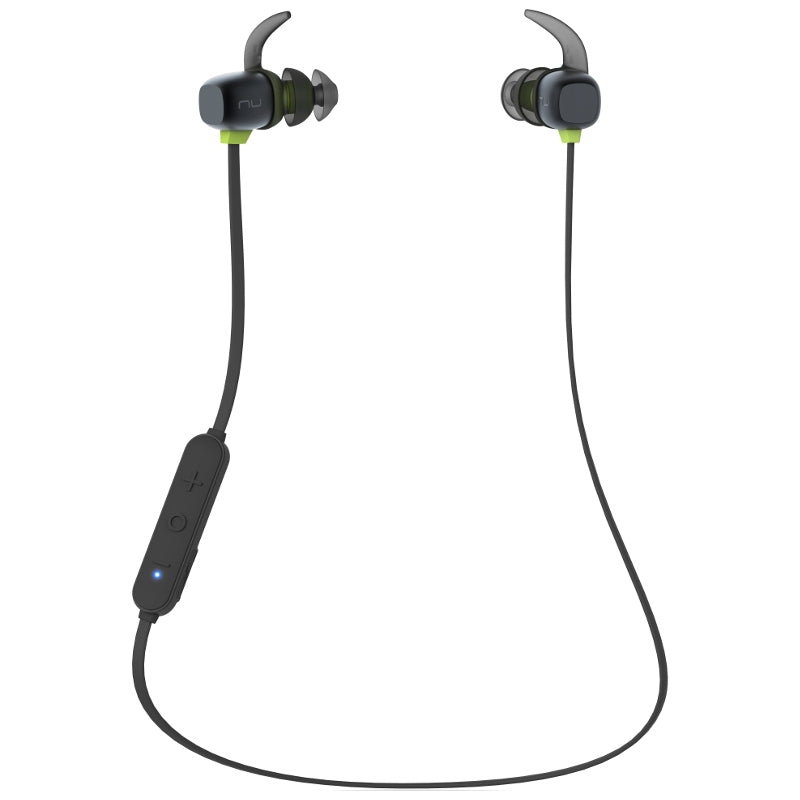 Optoma NuForce BE Sport4 Wireless Earphones with Controls & Mic - Black - Ex-Demo