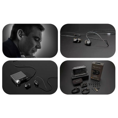 Optoma NuForce HEM6 Triple Drivers IEM Earphones with Detachable Cable and Controls & Mic - Refurbished