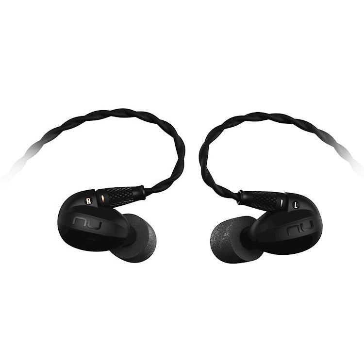Optoma NuForce HEM8 Quadruple Drivers IEM Earphones with Detachable Cable and Controls & Mic - Refurbished