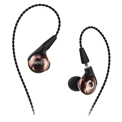 Oriveti Basic IEM Earphones with Detachable Cable - Mocha - Refurbished