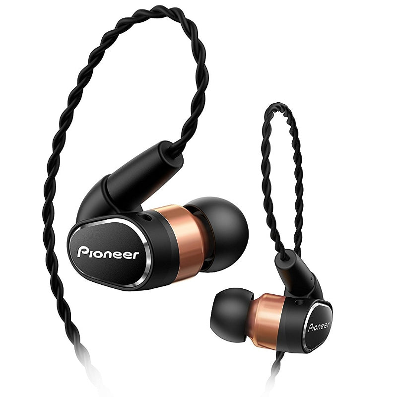Pioneer SE-CH9T IEM Earphones with Detachable Cable and Smartphone Controls & Mic - Refurbished