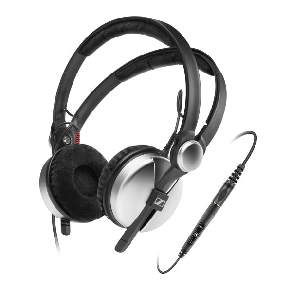 Sennheiser Amperior Closed Back Headphones with Apple Controls & Mic - Silver - Refurbished