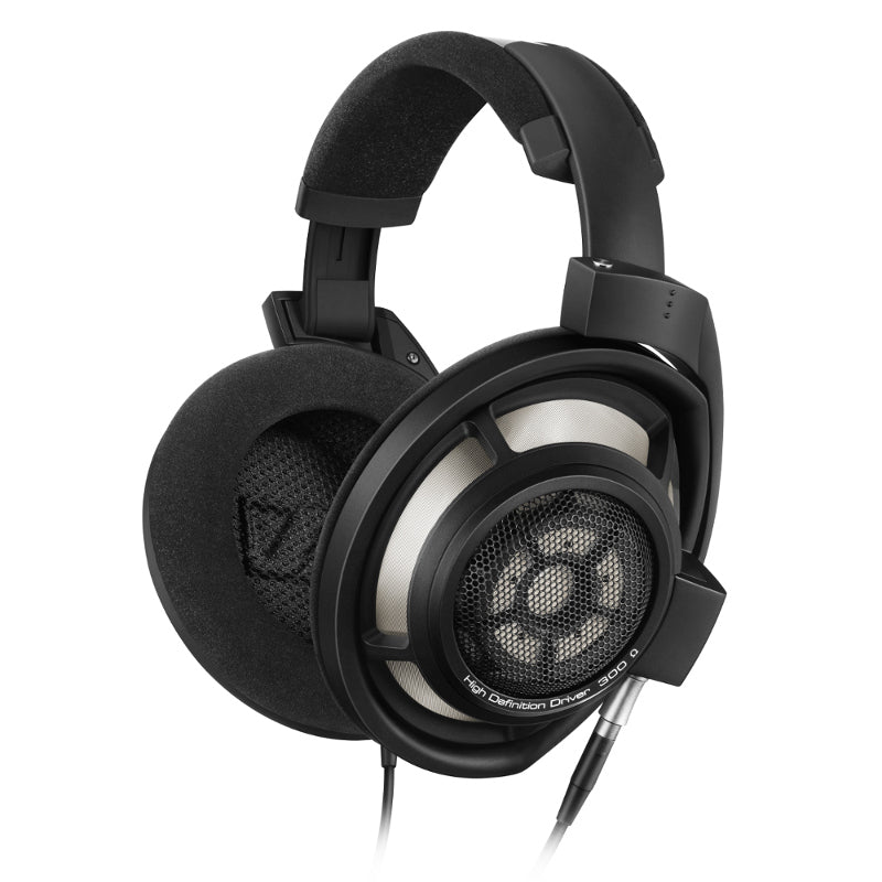 Sennheiser HD800S Open Back HiFi Headphones with Replaceable Cable - Black - Refurbished