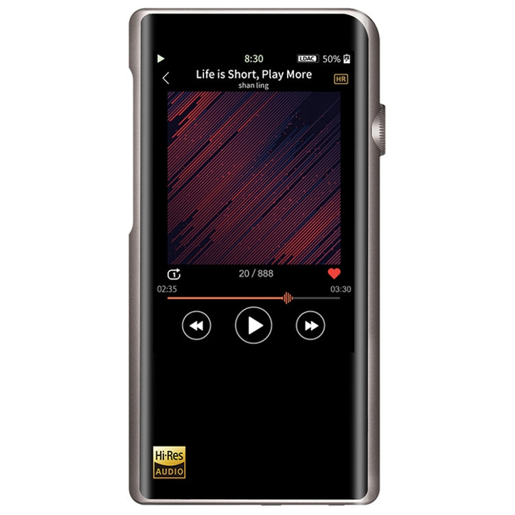 Shanling M5s Portable Lossless Digital Audio Player & USB DAC - Titanium - Refurbished