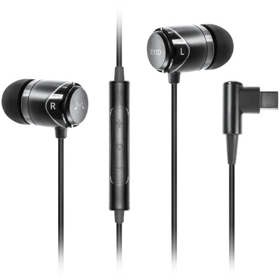 SoundMAGIC E11D In Ear Isolating USB-C Earphones with DAC - Refurbished