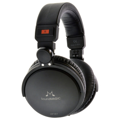 SoundMAGIC HP151 Closed Back Headphones with Detachable Cable - Refurbished