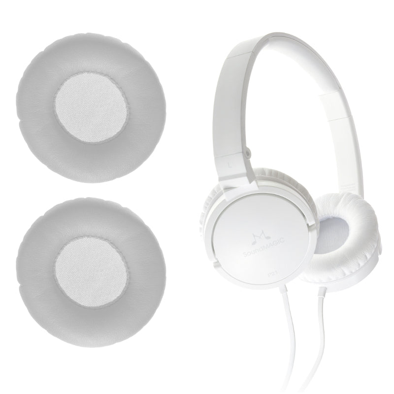 SoundMAGIC Replacement Earpads for P21 White Headphones