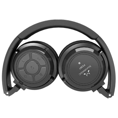 SoundMAGIC P22BT Portable Wireless Headphones - Black - Refurbished