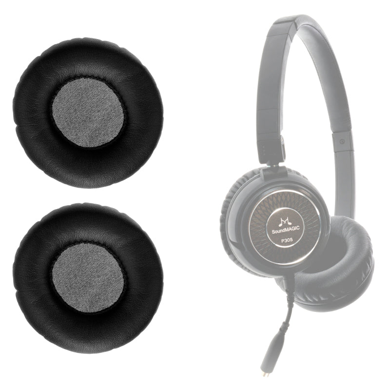 SoundMAGIC Replacement Earpads for P30S Black Headphones