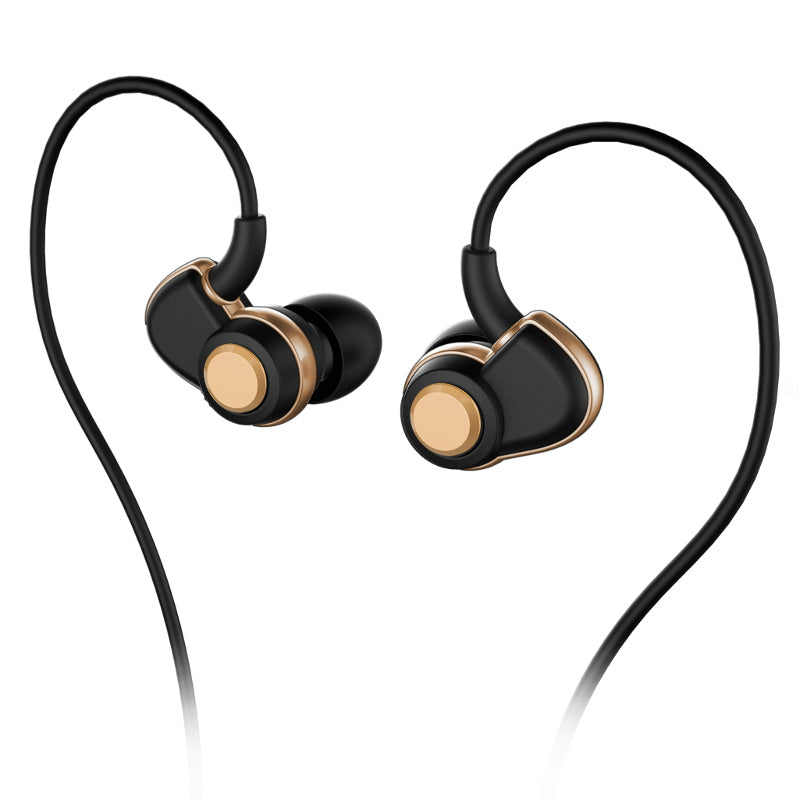 SoundMAGIC PL30+ IEM Earphones - Black & Gold - Refurbished
