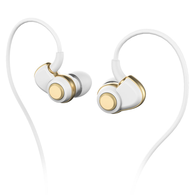 SoundMAGIC PL30+ IEM Earphones - White & Gold - Refurbished