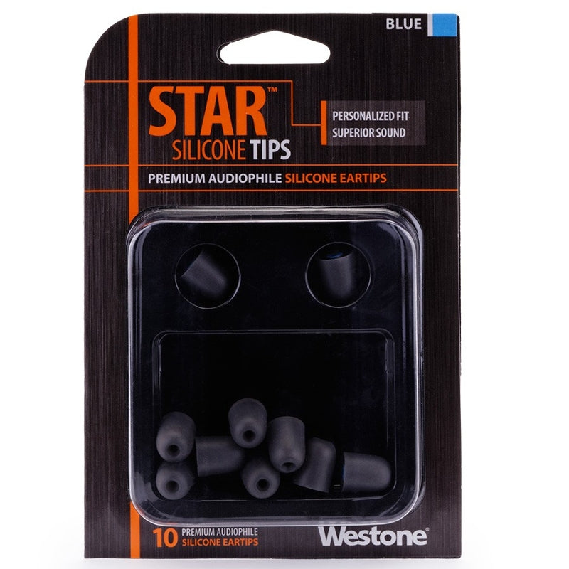 Westone Star Silicone Eartips - Blue