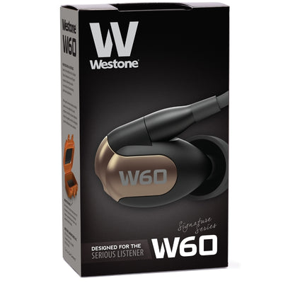 Westone W60 Six Drivers IEM Earphones with Detachable Cable - Refurbished