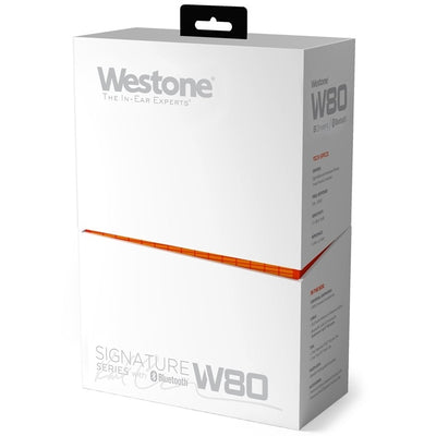 Westone W80 v2 Eight Drivers IEM Earphones with MMCX Bluetooth Cable V2 - Refurbished