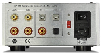 Burson Audio DA-160 Audiophile Digital-to-Analogue Converter