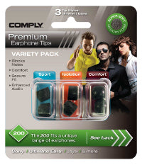 Comply 100-Series Variety Pack
