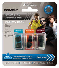 Comply 400-Series Variety Pack