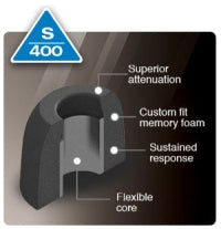 Comply Foam Ear Tips Active S-400
