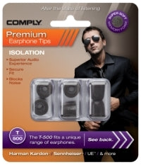 Comply Isolation Foam Earphone Tips T-500