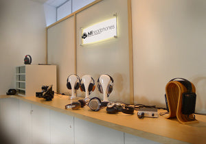Headphone Demonstration Room