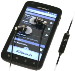Klipsch Image S4A In-Ear Isolating Android Headphones in Black