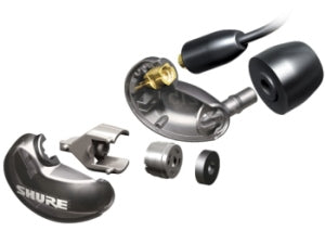 Shure SE 215 In-Ear Sound Isolating Earphones in Black