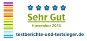 Testberichte & Testsieger Honours ES20 with 5 Star Review