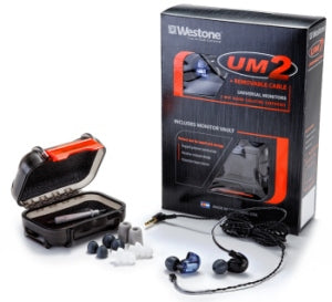 Westone UM2 RC Limited Edition Dual-Driver Earphones with Replaceable Cable in Blue