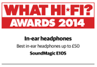 What Hi-Fi? Award Winner 2014