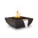 "The Outdoor Plus Avalon 24"" Concrete Fire & Water Bowl OPT-AVLFW24"