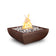 "The Outdoor Plus Avalon 24"" Metal Fire Bowl OPT-24AVCPF"