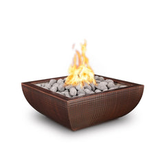 "The Outdoor Plus Avalon 30"" Metal Fire Bowl OPT-30AVCPF"