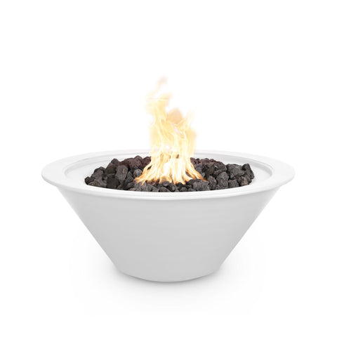 The Outdoor Plus Cazo 24 Powder Coated Steel Metal Fire Bowl OPT-R24PCFO