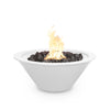 Image of The Outdoor Plus Cazo 24 Powder Coated Steel Metal Fire Bowl OPT-R24PCFO