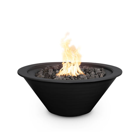 The Outdoor Plus Cazo 36 Powder Coated Steel Metal Fire Bowl OPT-R36PCFO