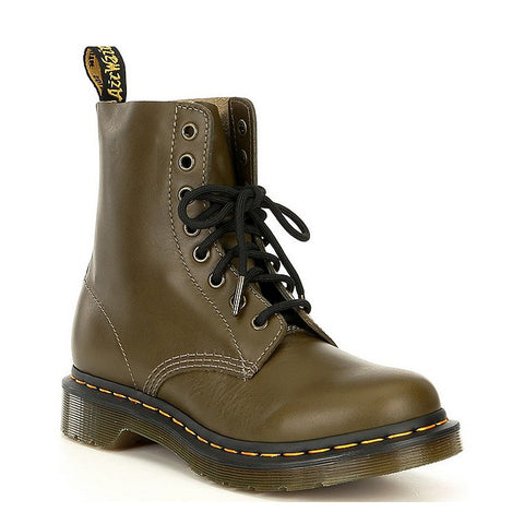 1460 8-Eye Olive Wanama Womens Boots
