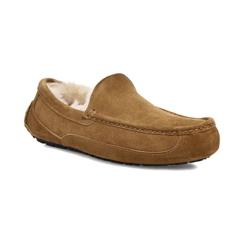 Ascot Mens Slipper Chestnut